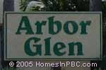 sign in front of Arbor Glen in Lake Worth