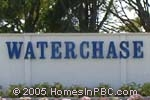 sign in front of Waterchase in Boynton Beach