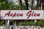 sign in front of Aspen Glen in Boynton Beach