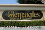 sign in front of Gleneagles in Delray Beach