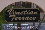 sign in front of Venetian Terrace in Boynton Beach