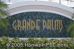 sign in front of Grande Palms in Boynton Beach