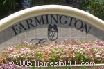 sign in front of Farmington Estates in Wellington
