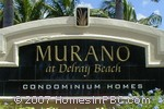 sign in front of Murano in Delray Beach