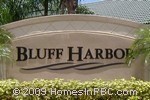 sign in front of Bluff Harbor in Wellington