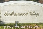 sign in front of Indianwood Village in Lake Worth