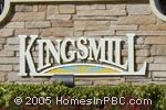 sign in front of Kingsmill in Lake Worth