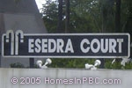 sign in front of Esedra Court in Lake Worth