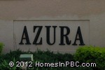 sign in front of Azura in Lake Worth