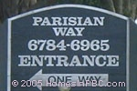 sign in front of Parisian Way in Lake Worth
