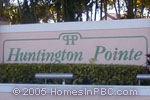 sign in front of Huntington Pointe in Delray Beach