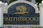 sign in front of Smithbrooke in Lake Worth