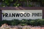 sign in front of Franwood Pines in Delray Beach