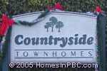 sign in front of Countryside in Lake Worth