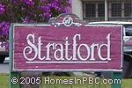 sign in front of Stratford in Boynton Beach
