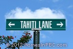 sign in front of Tahiti Lane Condos in Lake Worth