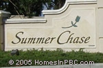 sign in front of Summer Chase in Lake Worth