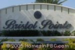 sign in front of Bristol Pointe in Delray Beach